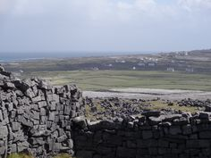 Part if the Inishmore island, seen from Dun Aengus Fort. Ireland. Photo: bestnorwegian.com