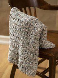 Crochet Texture Throw
