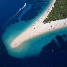 Zlatni rat (Golden Horn Beach) @ Croatia