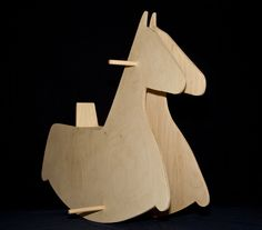 Wooden toys - Ecofriendly Toys - Rocking Horse  - Handmade