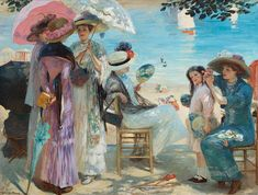 Beautiful Afternoon in Royan, Rupert Bunny (1864–1947)