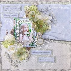 Stunning! Absolutely lovely LO by Amy, using papers from Vintage Spring Basics, Sofiero and Monochromes - shades of Sofiero.    #layout #LO #lo #scrapbooking #scrapbook #scrapping #scrap #papercraft #papercrafting #papercrafts #majadesign #majadesignpaper #majapapers #inspiration #vintage