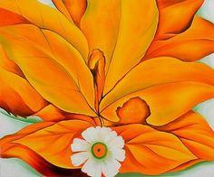 Georgia O Keefe Flower Paintings