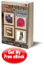 """How to Crochet Granny Squares: 9 Free Crochet Afghan Patterns eBook"" | AllFreeCrochet.com"