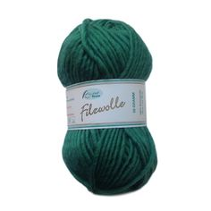 Filzwolle, 100% wool wash & felt yarn, 50g, Irish Moss - I Wool Knit - 1