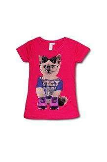 T-shirt<BR>Fuchsia