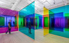 Olafur Eliasson's Stunning Glass Art Pieces Light Art Installation, Interactive Installation, Stockholm, Studio Olafur Eliasson, Instalation Art, Inspiration Artistique, Lights Artist, Mosaic Pieces, Stage Design
