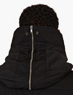 Rick Owens Drkshdw,Black Cotton-Blend Longline Bomber Jacket,BLACK,5