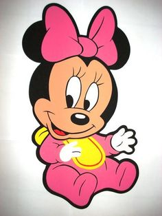 Moldes para hacer Minnie baby - Imagui