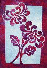 Two Mums applique quilt pattern