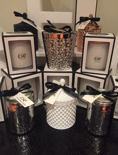 Luxury candle Collection made by Exotic Soy Candles made with 100% Soy wax