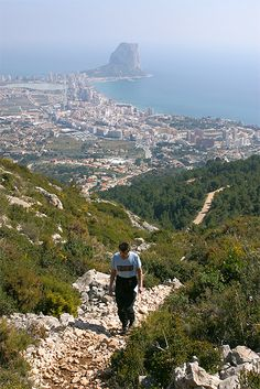 www.agrupacioncerrajera.com, cerrajero Calpe 24 horas de paseo por la montaña