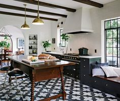 delight by design: Black, White + Brass