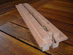 wooden fin box
