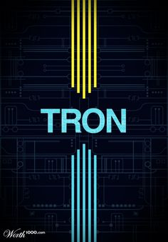 Tron | #tron #movieposter
