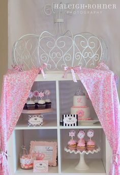 Full Vintage Princess Birthday Party Collection