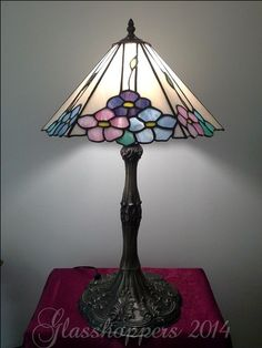 Flower lamp by Glasshoppers