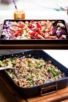 Hemsley & Hemsley Quinoa Salad & Basil Brazil Nut Pesto Recipe
