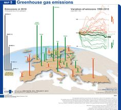 Pollution pics in Europe [N. LAMBERT, 2013] #maps #cartography