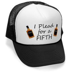 I PLEAD for a FIFTH drinking game hat osfa Unisex by HotterTopic, $9.99