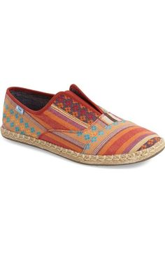TOMS  Palmera  Stripe Slip-On (Women) available at  Nordstrom Loafer b41a0958cdc4c