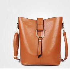 c7f619c55cad Shop for Simple Wild Bucket Bag Fashion Shoulder Messenger Bag. Get free  delivery at Overstock
