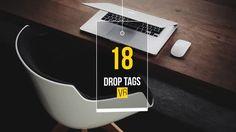 Drop Tags V 6 - VideoBlocks