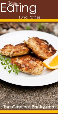 Clean Eating Tuna Patties. Delicious, healthy and easy to make!