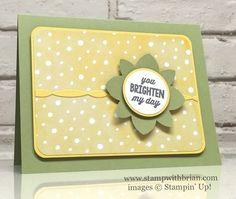 Sunburst Sayings, Fruit Stand Designer Series Paper, Stampin' Up!, Brian King