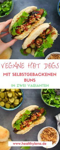 Hier teile ich das Rezept für meine veganen Hot Dogs inklusive selbstgebackenen Brötchen mir dir - in zwei Versionen: als normales und als sogenannten Carrot Dog mit Karotten. Natürlich mit selbstgebackenen Hot Dog Buns.
