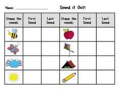 Sound It Out  @Teach it with Class FREEBIE