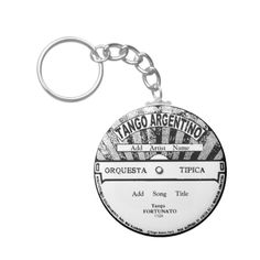Shop Tango Argentino Record Key Chain created by TangoALaMode. Create Your Own, Create Yourself, Tango Dancers, Custom Buttons, Argentine Tango, Invitation Cards, Ganesha, Cool Designs, Jazz