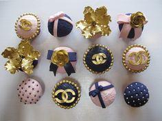 Deluxe Chanel Cupcak