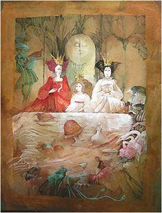 Anne Bachelier иллюстрации к обеим Алисам Льюиса Кэрролла