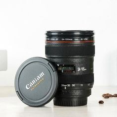 Mini Creative SLR Camera Lens mug Stainless Steel insulation Vodka Camera Lens Portable Cup Scale Plastic Coffee mug Tea Mugs, Coffee Mugs, Coffee Wine, Coffee Lovers, Camera Lens Mug, Camera Gear, Plastic Coffee Cups, Wine Auctions, Wine Tasting Events