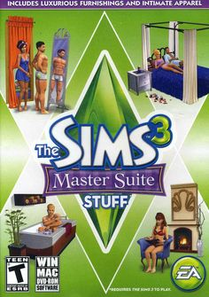 Home is where the heart is! Whether your Sims relax in a bubble bath in their luxurious bathroom, enjoy some down time in their exquisitely furnished bedroom, or wear new intimate apparel for their sp