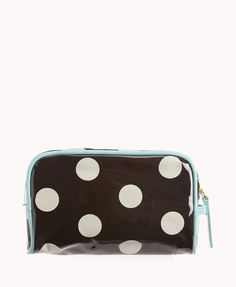 Polka Dot Cosmetic Pouch   FOREVER21