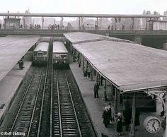 1988 Bahnsteig D und E Ostkreuz