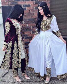 "Afghan💗Dukht on Instagram: ""Tajiki 🇹🇯 x Afghan attire 🇦🇫 @angelanosha✨ #afghandukht"" Simple Pakistani Dresses, Pakistani Fashion Casual, Indian Fashion Dresses, Pakistani Dress Design, Indian Designer Outfits, Pakistani Outfits, Indian Outfits, Modest Fashion, Stylish Dresses For Girls"