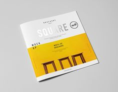 Square Brochure / Catalog / Booklet Mock-up on Behance Furniture Brochure, Booklet, Mockup, Catalog, Logo Design, Behance, Projects, Brochures, Layouts