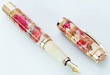 """VISCONTI"" FOUNTAIN PEN The Cristian Bible (Antique Gold) Limited Edition"