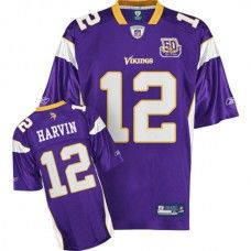 Vikings  12 Percy Harvin Purple Team 50TH Patch Stitched NFL Jersey Percy  Harvin c17ae39a3