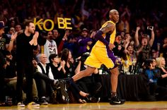 5abf8fb7a97a Utah Jazz v Los Angeles Lakers - thank you black mamba 4.13.16 Kobe Bryant