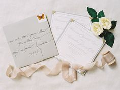 Elegant invitations by Grove Street Press. Photo: Sara Hasstedt   Snippet & Ink