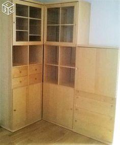 Meuble living bar tv biblioth que le bon coin for Coin arredamento