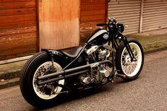 1977 Harley Davidson Shovelhead bobber