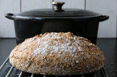 ELTEFRITT HALVGROVT SPELTBRØD   TRINES MATBLOGG Muffin, Rolls, Baking, Breakfast, Recipes, Morning Coffee, Buns, Bakken, Muffins