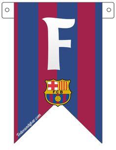 Barcelona FC Candy Bar para Descargar e Imprimir Gratis   Todo Candy Bar