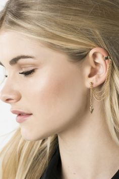 Shop for earrings, studs, hoops and ear cuffs at Ardene. Find sterling silver earrings and large statement earrings with fringe and faux pearls. Statement Earrings, Pearl Earrings, Drop Earrings, Sterling Silver Earrings, Studs, Footwear, Jewelry, Women, Sterling Silver Jewelry