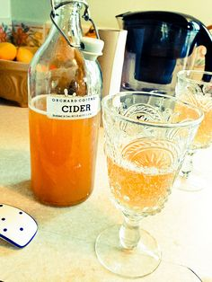 Home brewed cider by @Monica Shaw